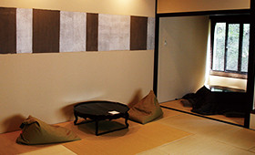 Japanese‐style rooms for twin